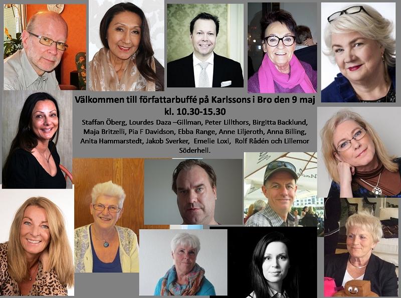 Författarbuffe Karlssons