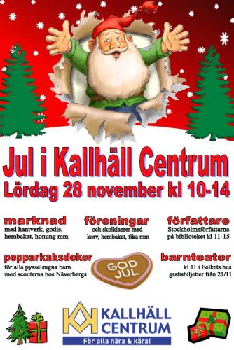 Kallhäll_Julaffisch