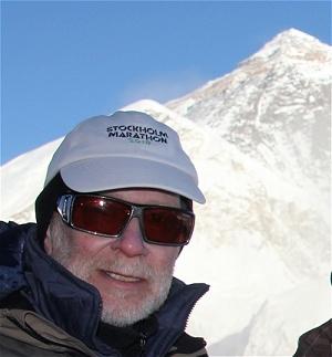 jag och Mount Everest